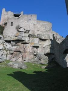 Burgruine Flossenbürg - Mauersicherung