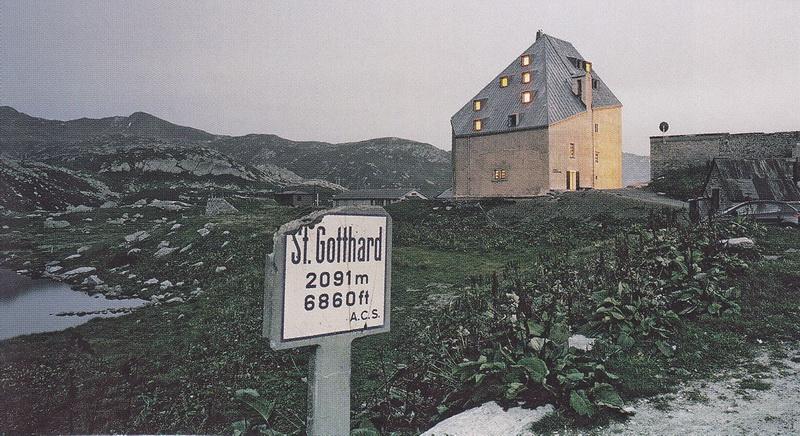 Gotthard der Tandem-Gipfel